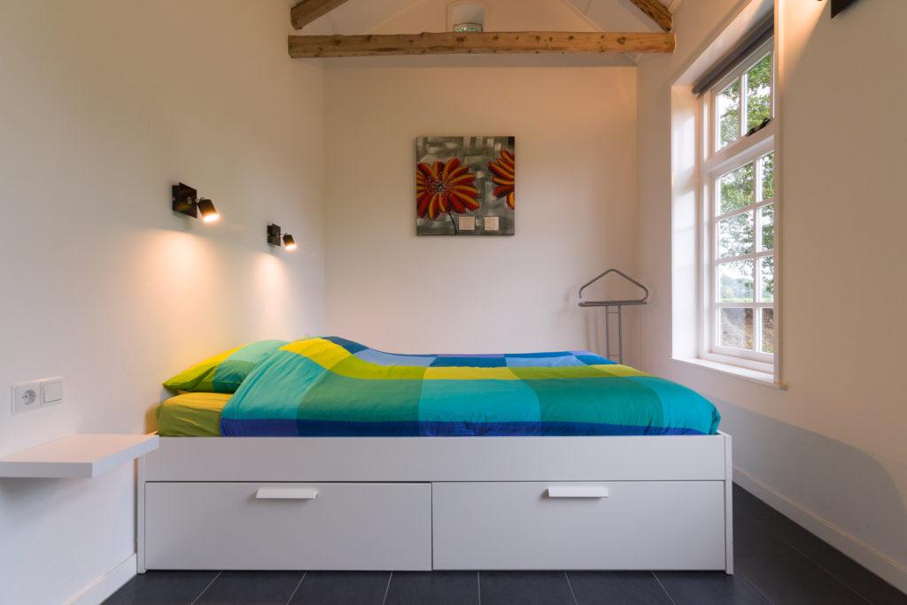 vakantiehuis grote slaapkamer